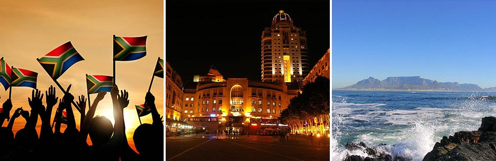 Firelight Tours South African cities and scenery